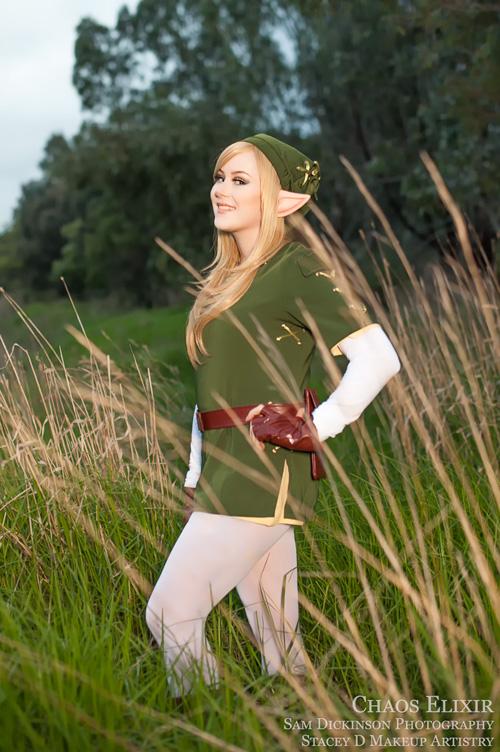 Zelda cosplay if link was a girl - 2 1