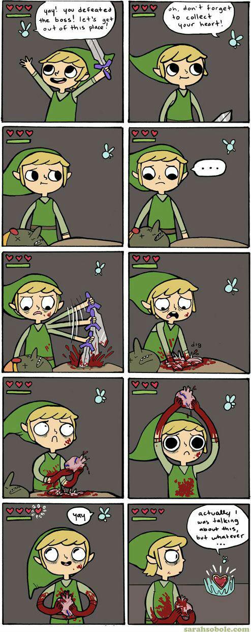 Funny Meme Links : Link comic don