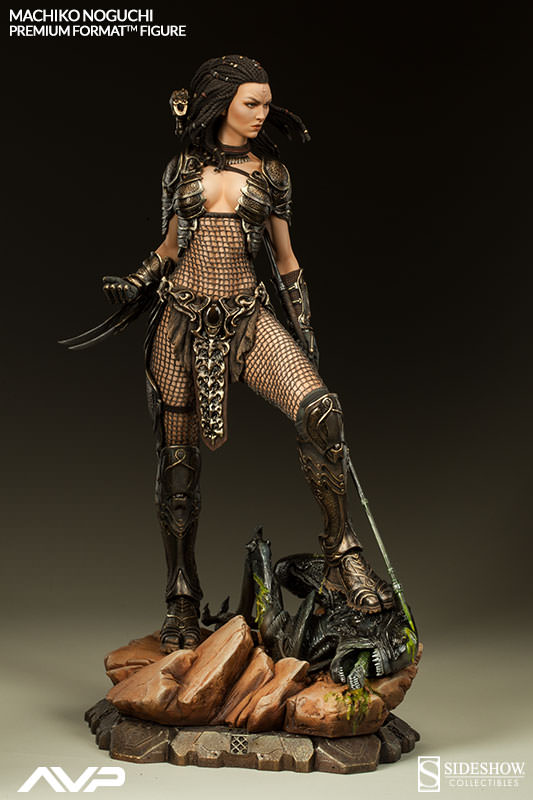 Machiko Noguchi Alien Vs Predator Figure