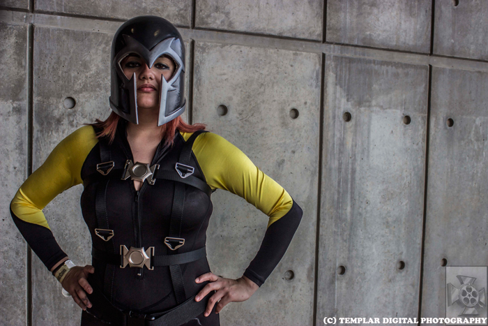 Female Magneto Cosplay