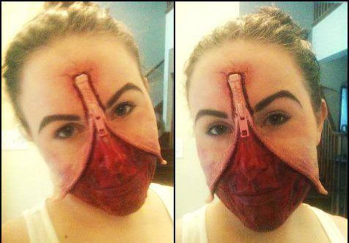 Amazing Geeky Cosplay Makeup