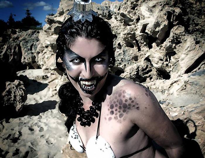 deep sea mermaids photoshoot