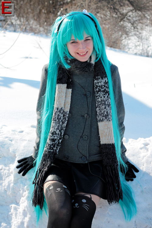 Winter Miku Cosplay