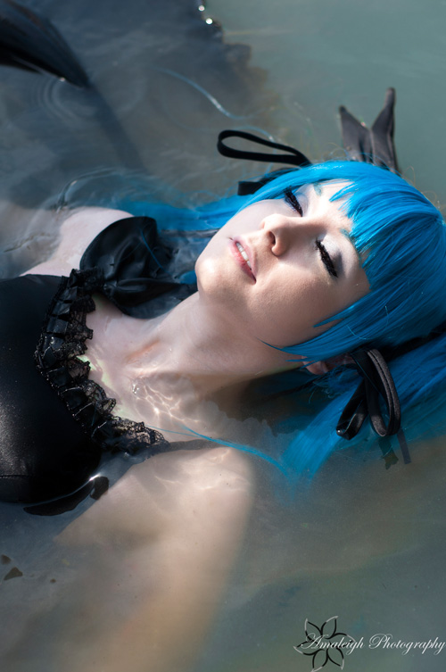 Miku from Vocaloid Cosplay