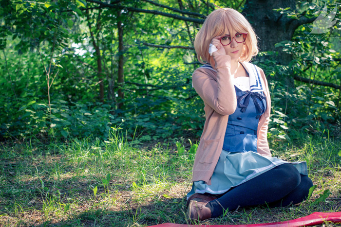 Mirai Kuriyama from Beyond the Boundary Cosplay