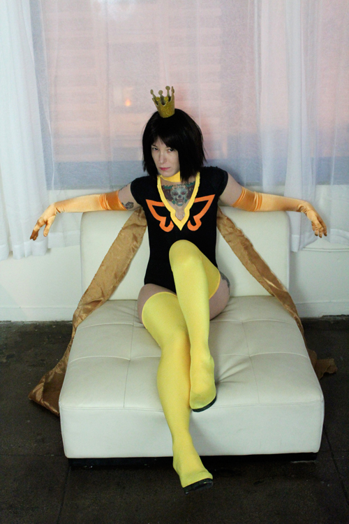 Dr. Mrs. The Monarch Cosplay