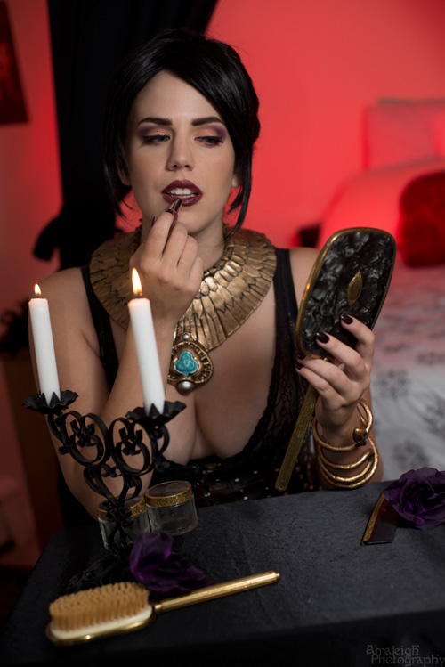 Morrigan & Leliana from Dragon Age: Inquisition Boudoir Shoot