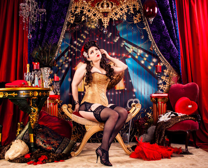 Moulin Rouge Photoshoot