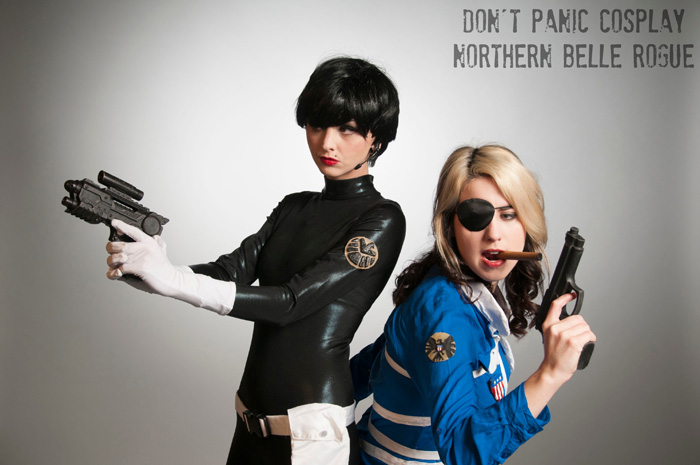 Nick Fury and Maria Hill Cosplay