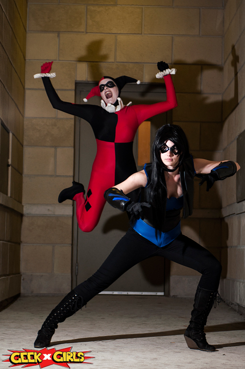 Nightwing & Harley Cosplay
