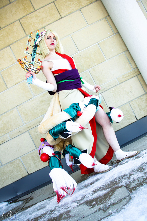Ninetails from Okami Cosplay