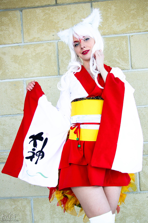 Amaterasu from Ōkami Cosplay