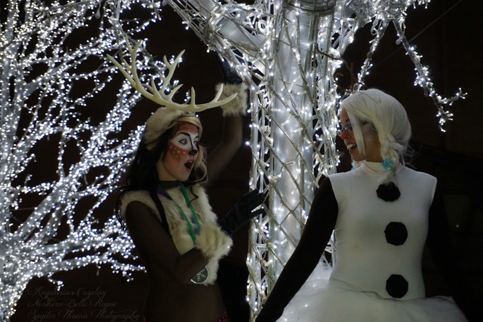 Olaf & Sven from Frozen Cosplay
