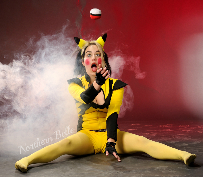 Cosplay: Pikachu most wanted Pokemon Go
