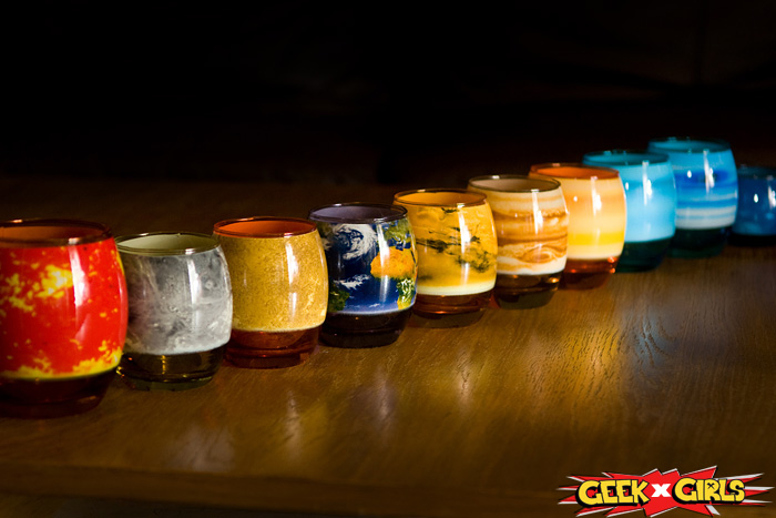 solar system glassware set - photo #7