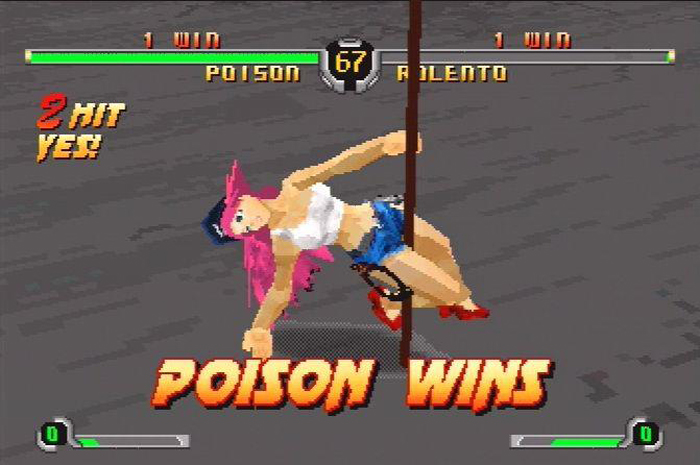 Poison Street Fighter
