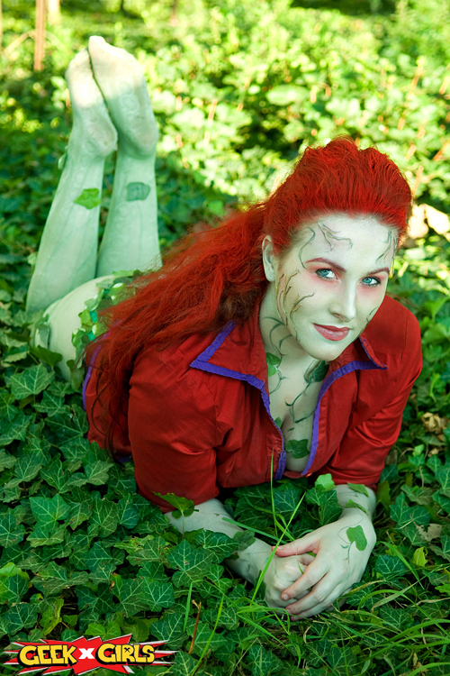 Arkham Poison Ivy Cosplay