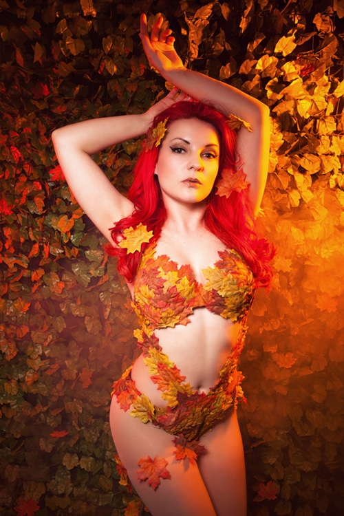 Autumn Poison Ivy Cosplay