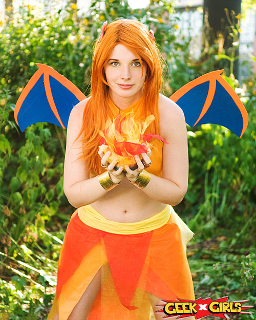 Charizard & Blastoise Pokemon Cosplay