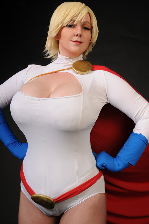 Accept. interesting big boob power girl cosplay commit error