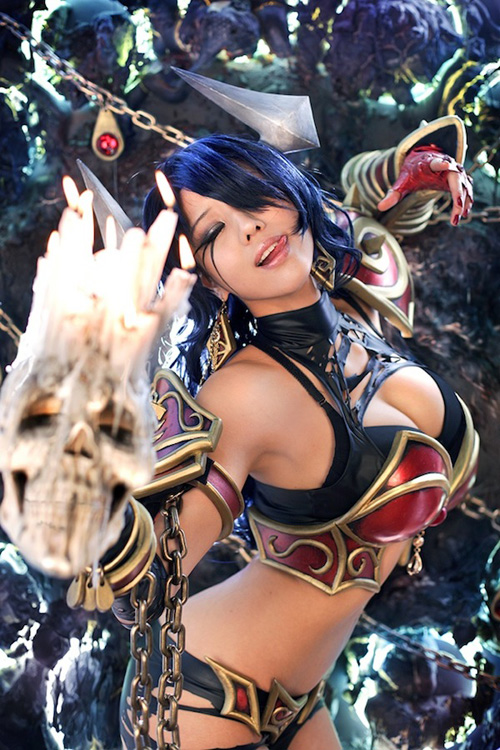 DOTA 2 Queen Of Pain CosplayQueen Of Pain Dota 2 Cosplay