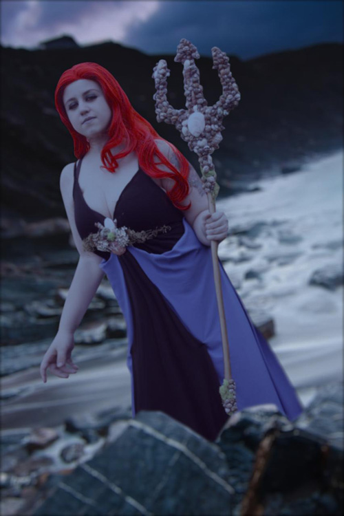 Ran Norse Goddess of the Sea Cosplay