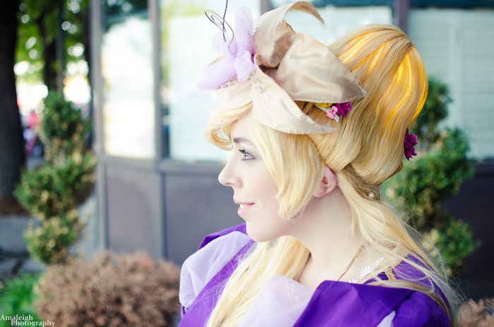 Historical Rapunzel from Tangled Cosplay