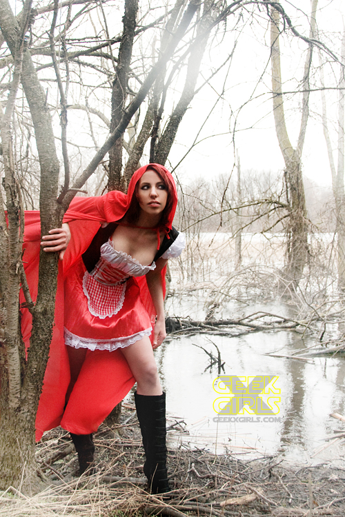 Red Riding Hood Photoshoot