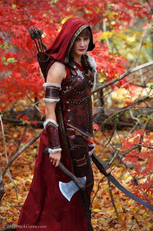 sc 1 st  GeekxGirls & Little Red Riding Hood Wolf Hunter Cosplay