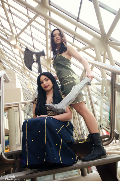 River Tam and Inara Serra from Firefly Cosplay