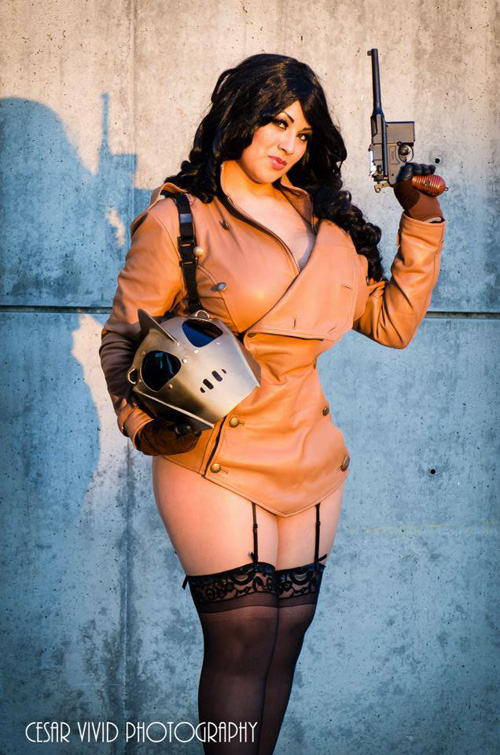 Betty from the Rocketeer Cosplay