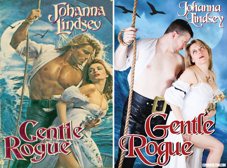 Romance Novel Covers Recreated by Real People