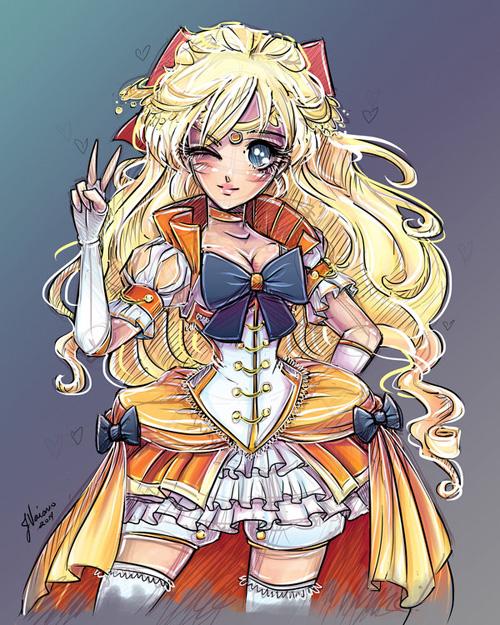 Fantasy Sailor Moon Redesigns