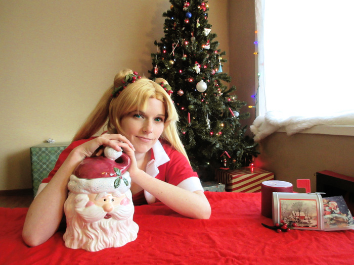Christmas Sailor Moon Cosplay