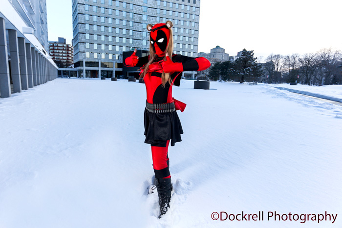 Sailor Deadpool Cosplay