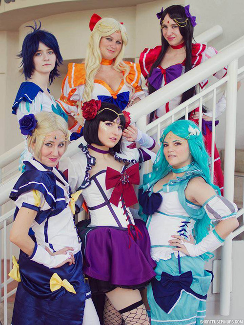 sc 1 st  Geek X Girls & Sailor Scouts from Sailor Moon Cosplay