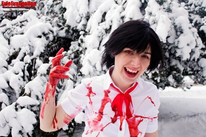 Saya Blood Cosplay