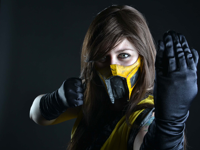 Scorpion Mortal Kombat Cosplay