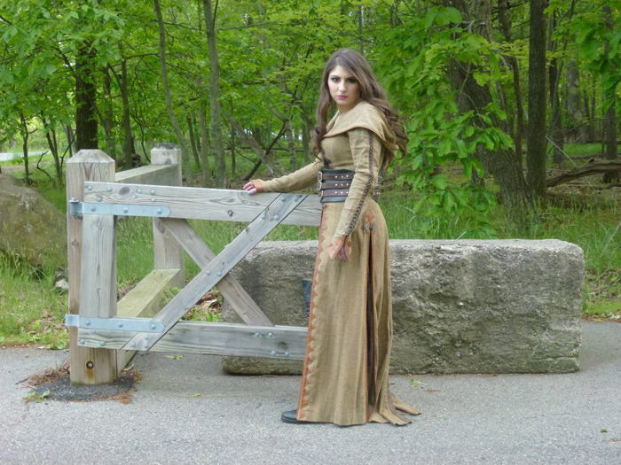 Screen Worn Legend of the Seeker Costume Collection