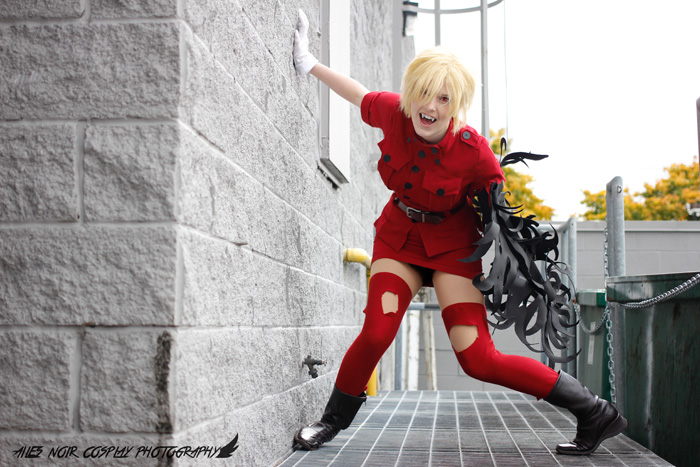 Seras from Hellsing Cosplay