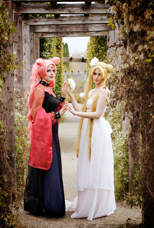 Princess Serenity and Wicked Lady Cosplays
