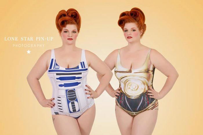 Sexy Star Wars Girls 2013