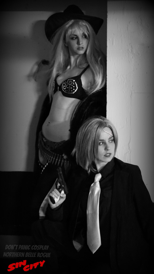 Hartigan & Nancy from Sin City Cosplay