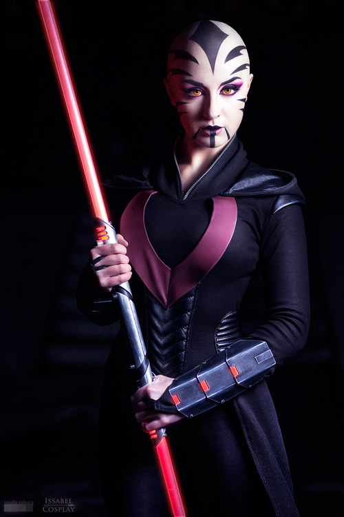 Star wars sexy jedi girls cosplay