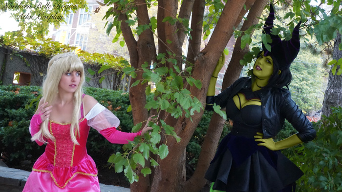 Aurora & Maleficent from Sleeping Beauty Cosplay