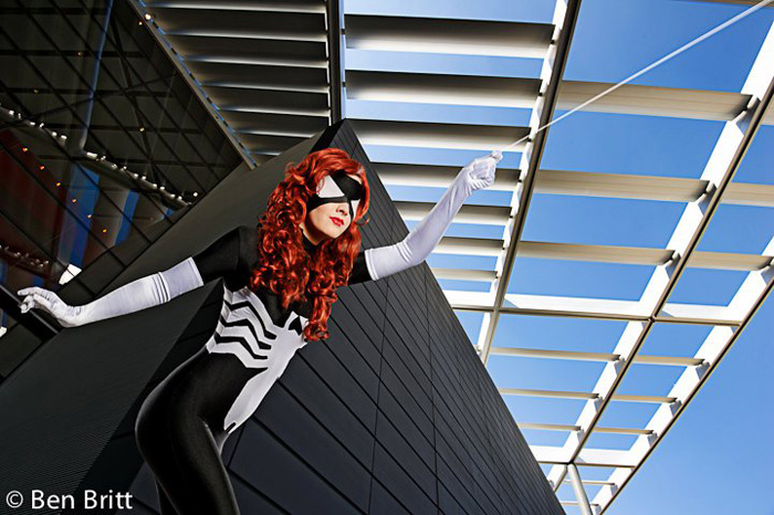 Spiderwoman Cosplay