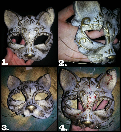 Kitty Splicer Mask from BioShock Tutorial