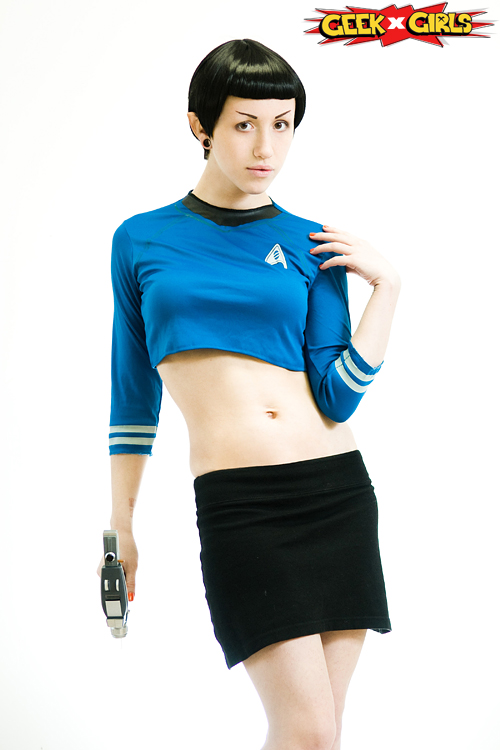 Female Spock Cosplay