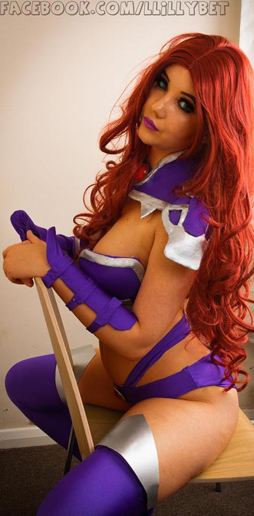 Starfi cosplay girls nude
