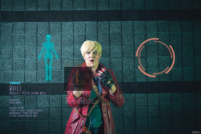 Star lord guardians of the galaxy cosplay